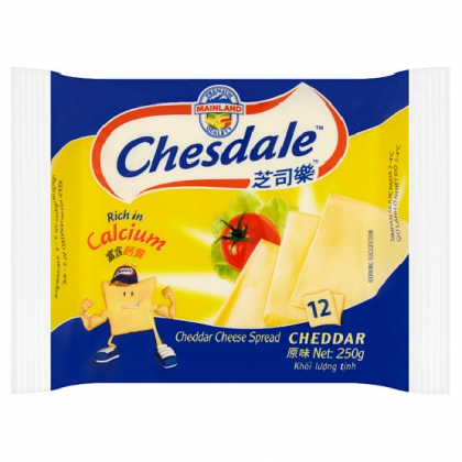 Chesdale Cheddar Cheese 6's