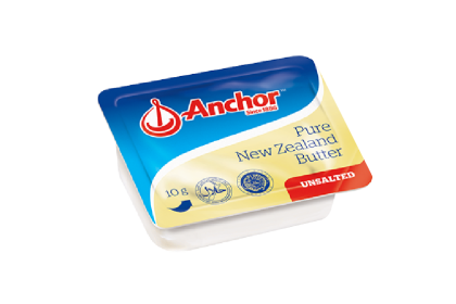 Anchor Unsalted Mini Dish Butter 10'S
