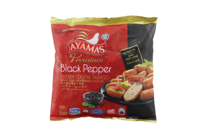 Ayamas Premium Black Pepper Chicken Cocktail 500G