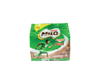 Milo 3IN1 Powder Ori 33G X 18