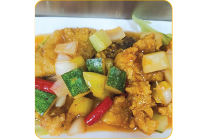 SWEET&SOUR FISH SLICE