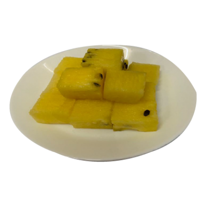 Cut Fruit watermelon yellow
